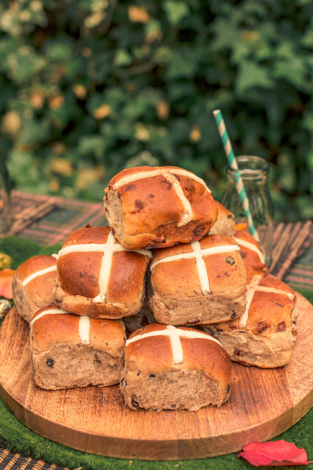 Bakers Delight Hot Cross Buns at Autumn Easter Egg Hunt