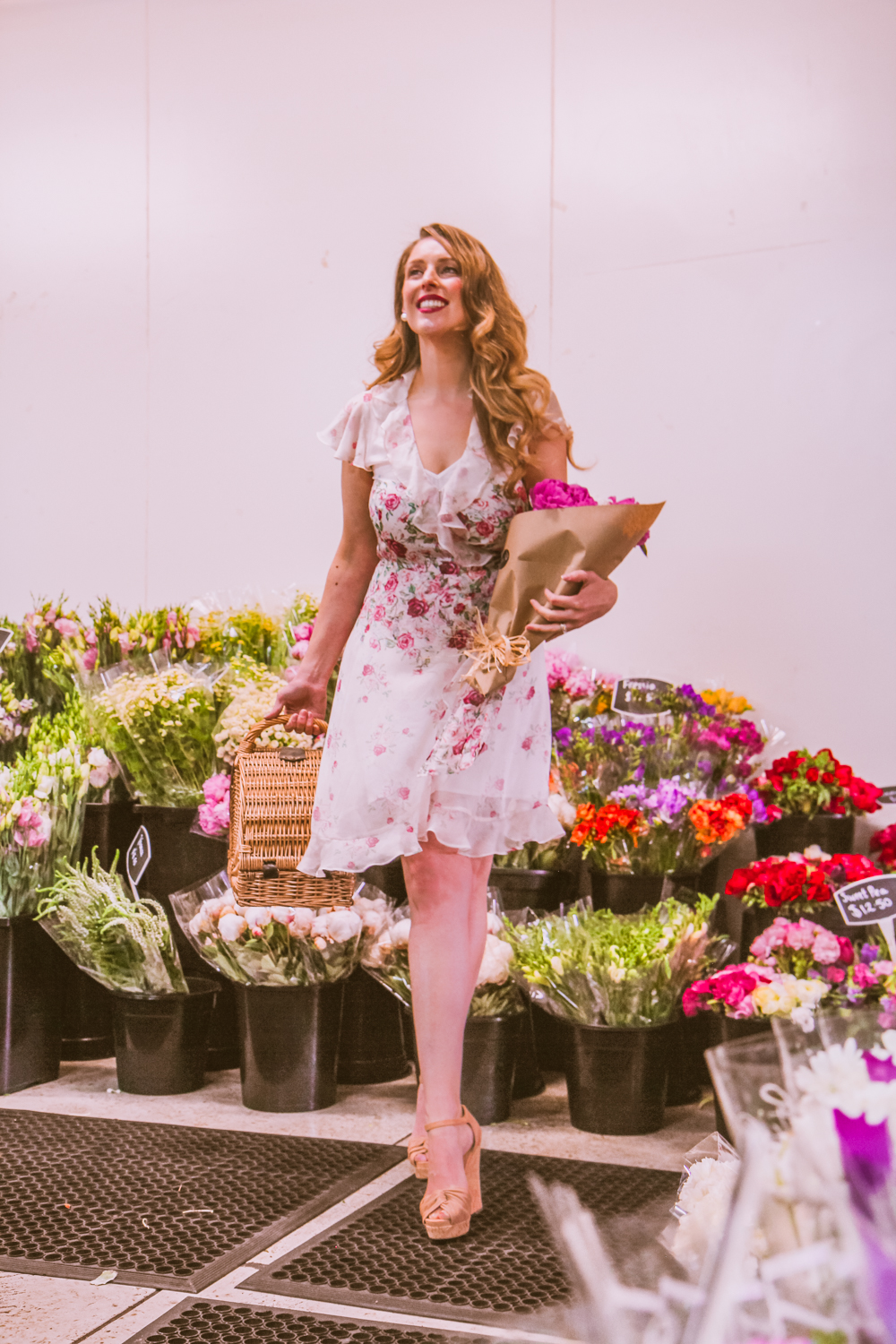 6d426d845822 I love that the warmer weather this time of year means pretty dresses.  Alannah Hill were kind enough to gift me this stunning Climbing Roses dress  which is ...
